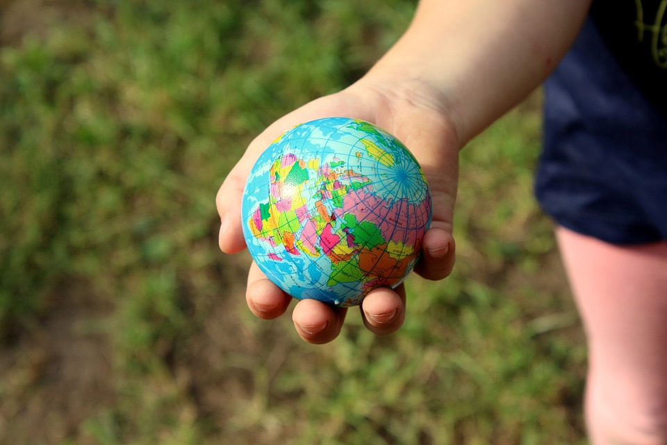 World The Ball Earth Globus Planet Sphere