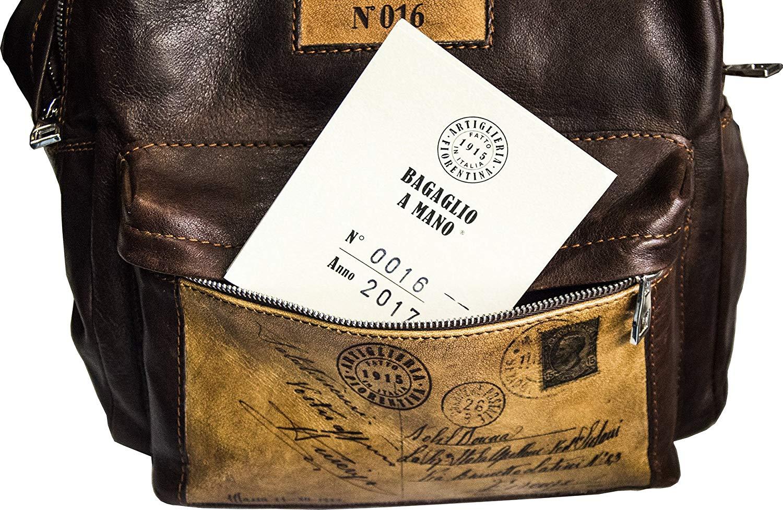 Egyedi, számozott toszkán bőrtáskák, certifikáttal